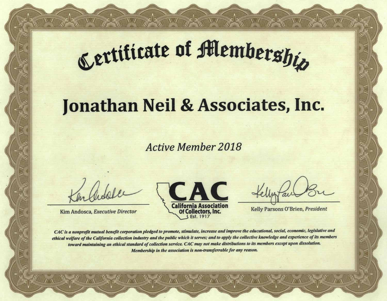 CAC, Member